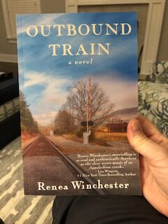 Outbound Train by Renea Winchester
