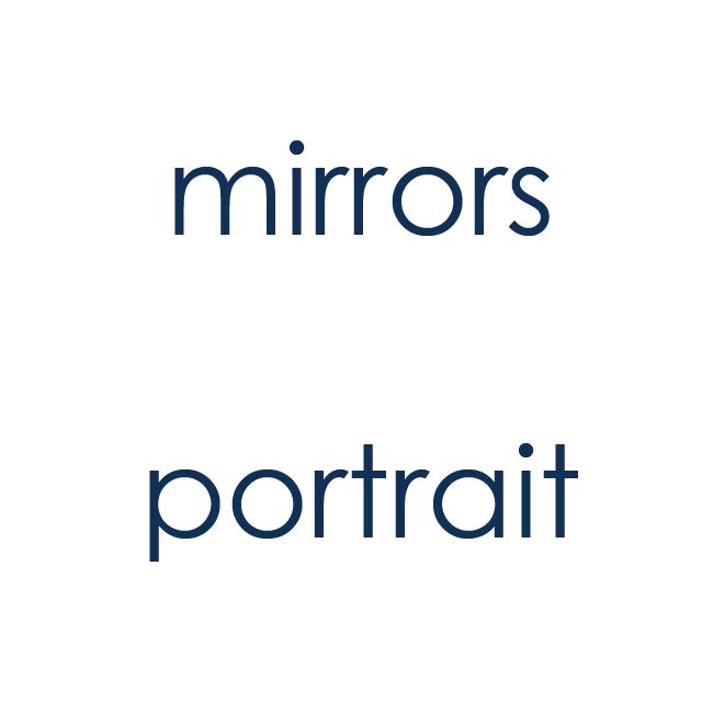 Mirrors portrait