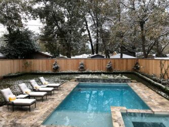 Pools With Snow