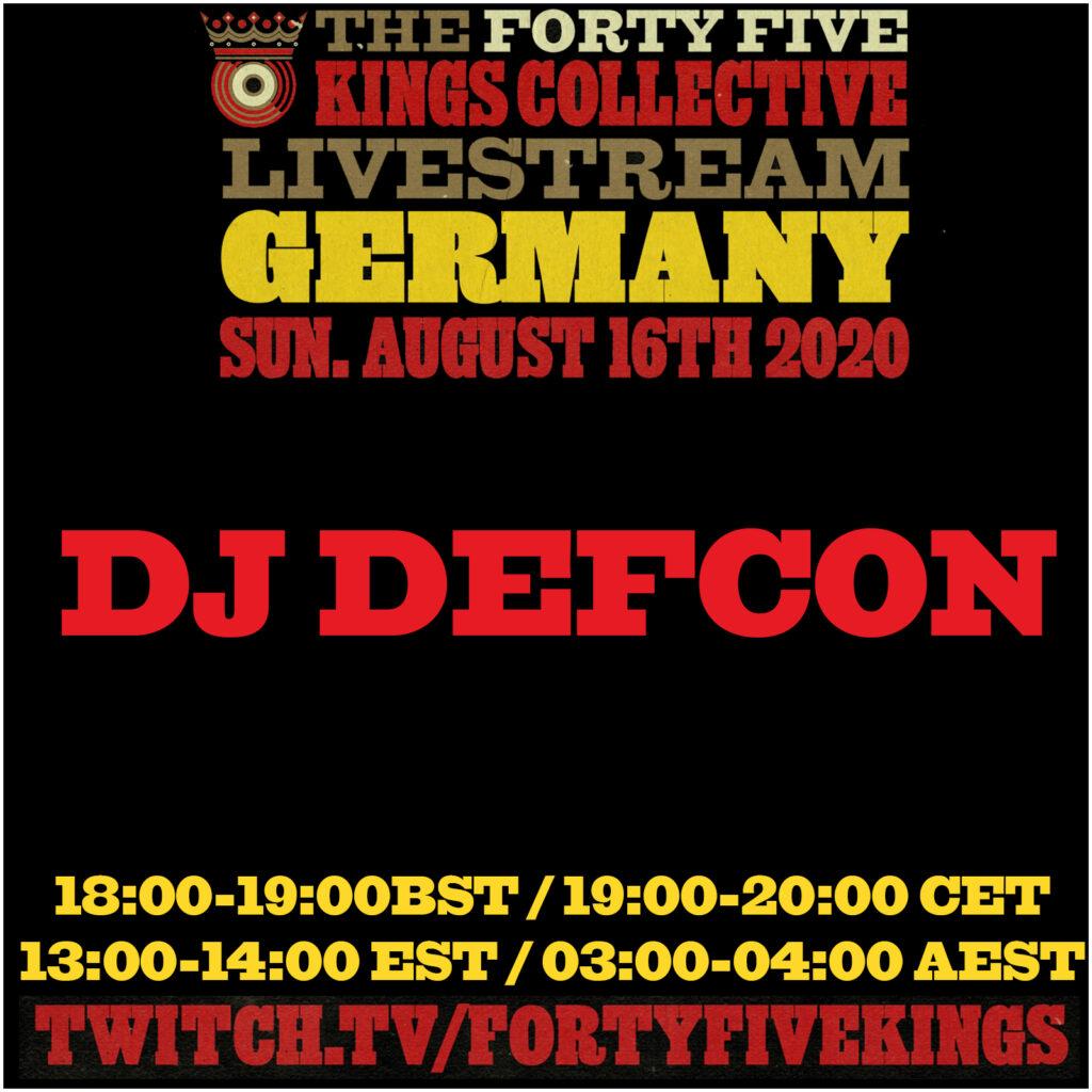 8. DJ Defcon b