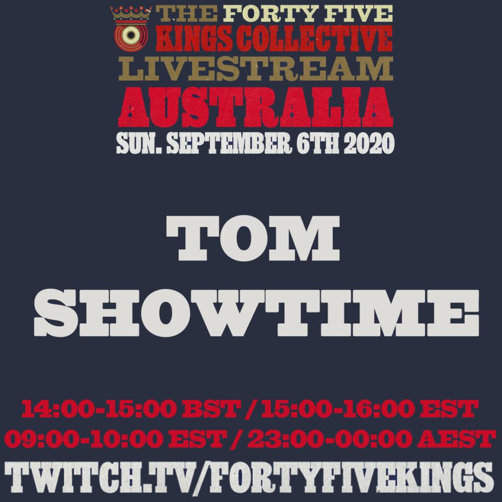 8. Tom Showtime