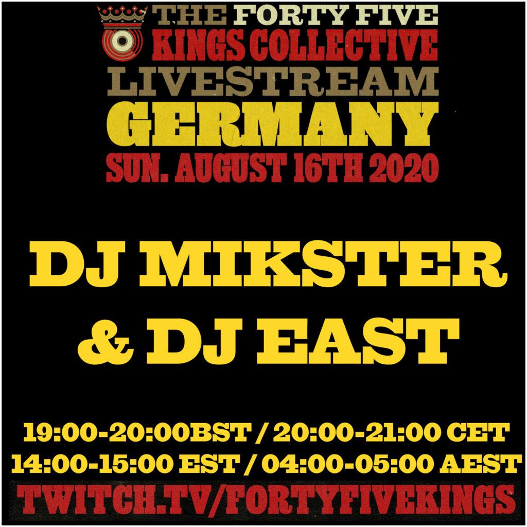 9. DJ Mikster & DJ East b