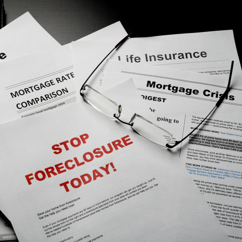 STop foreclosure today document