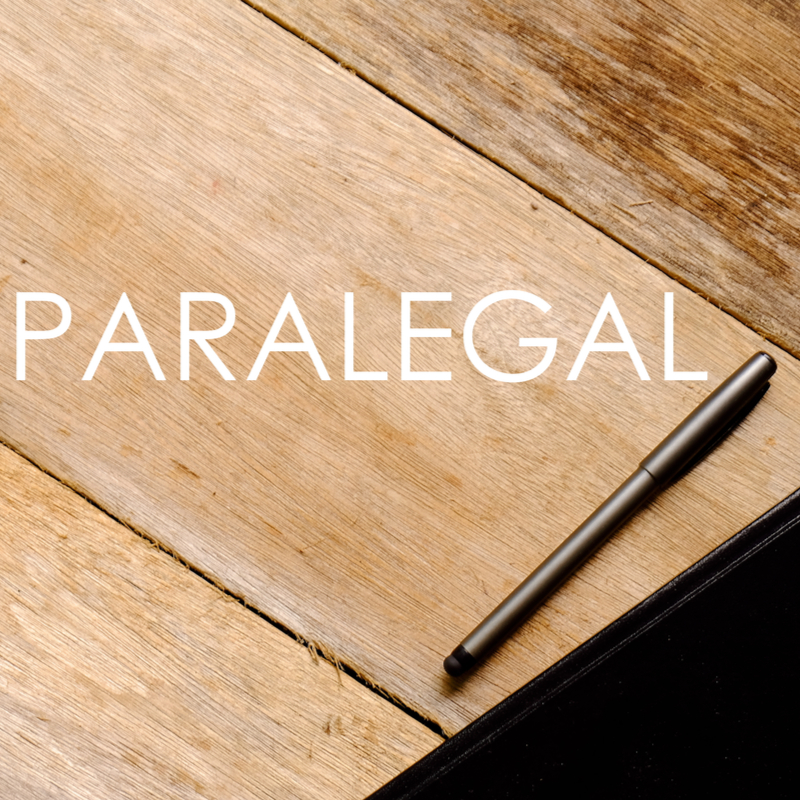 Paralegal sign