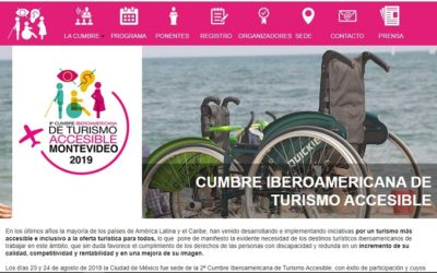 En Montevideo se efectuará III Cumbre Iberoamericana de Turismo Accesible