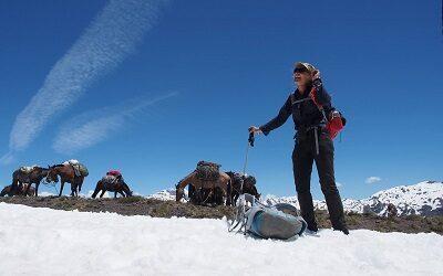 Cora Menegoz ofrece aventura y cultura en San Fabián, en Región de Ñuble