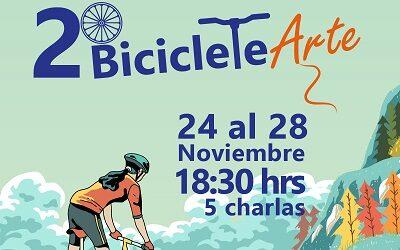 Festival BicicleteArte vive su segunda versión en la Región de O'Higgins