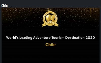 Chile logra dos nuevos importantes triunfos en los World Travel Awards 2020