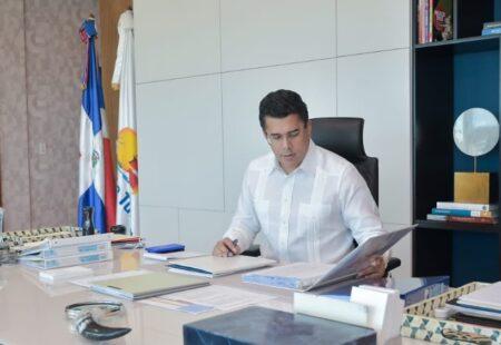 Ministro de Turismo de República Dominicana, David Collado.