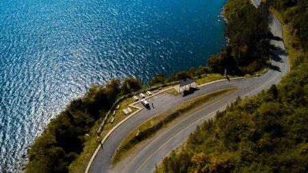Mirador lago Calafquén