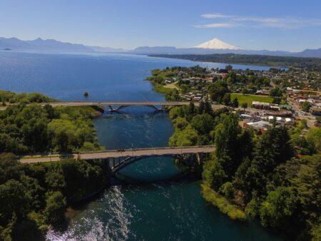 Puentes de acceso a Villarrica