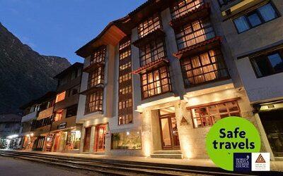 Casa del Sol Machu Picchu Boutique Hotel logra certificación Safe Travels