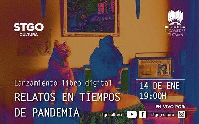 """Santiago Cultura lanza libro digital """"Relatos en tiempos de pandemia"""""""