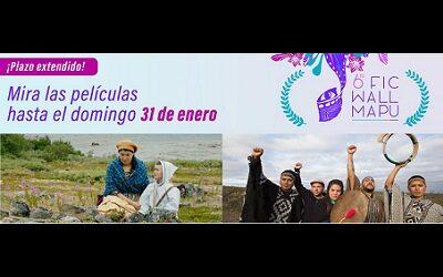 6° Festival Internacional de Cine en Wallmapu amplía acceso hasta domingo 31