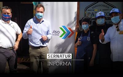 Sernatur Araucanía recorrió las 32 comunas asesorando en protocolos sanitarios