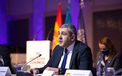 Secretario general Zurab Pololikashvili reelegido por cuatro años en la OMT