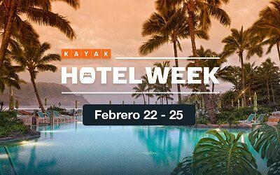 Buscador KAYAK lanza Hotel Week, su evento de ofertas en hoteles del año