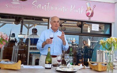 Pascual Ibáñez en taller sensorial y de maridaje con productores caprinos