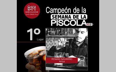 En la Semana de la Piscola se reconoció el trabajo de los bartender de todo Chile
