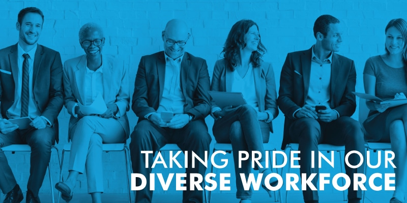 Taking Pride In Our Diverse Workforce