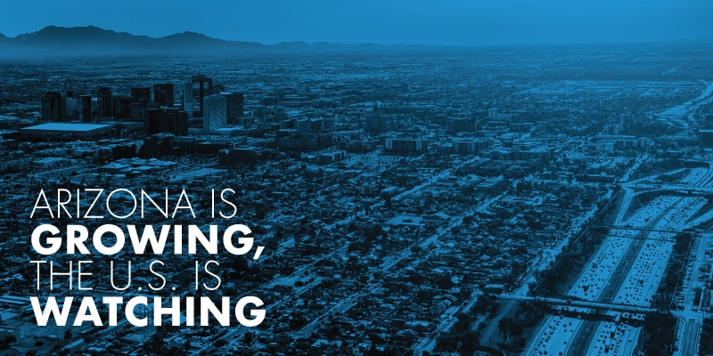 Maricopa County Highest Population Rate In The Nation