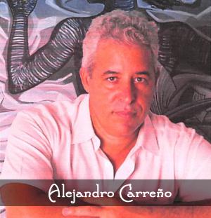 Artist Alejandro Carreno