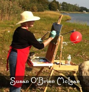 Artist Susan O'Brien McLean
