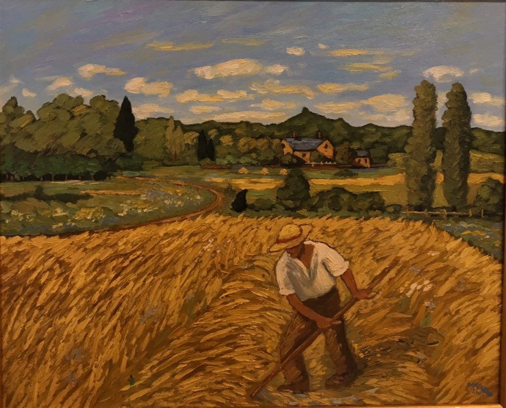 Working the Wheat