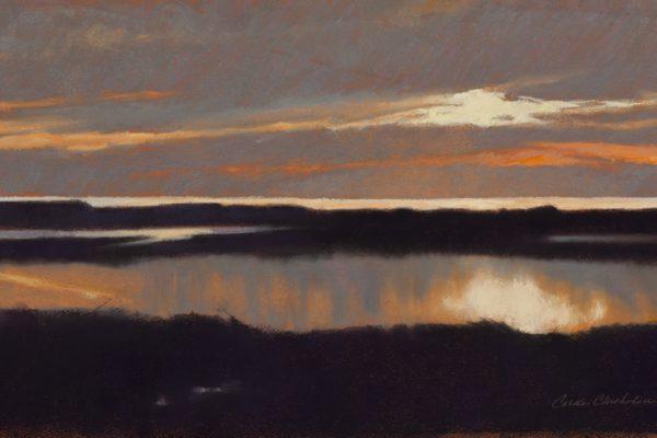 Carole Garvey River Sunset
