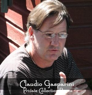 Artist Claudio Gasparini