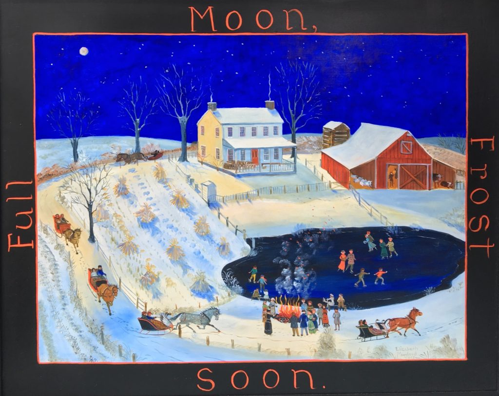 Full Moon Frost Soon
