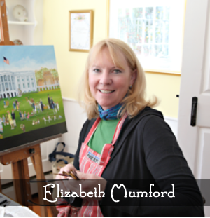 Artist Elizabeth Mumford
