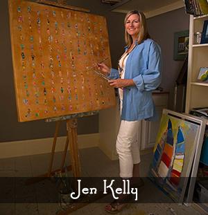 Artist Jen Kelly