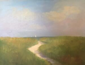 A SUMMER DAY    Oil on canvas     18 x 24   $2200