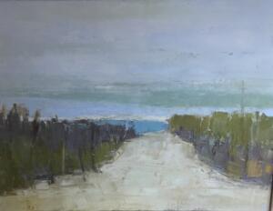 BEACH PATH  |  18 x 24  |  Oil on canvas  |  20 x 26 Framed  |  $1800