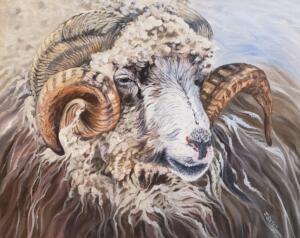 KARL  |  Oil on canvas  |  16 x 20  |  17 x 21 Framed  |  $1,200