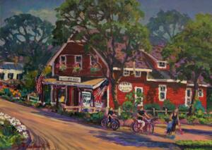 COUNTRY STORE  |  18 x 24  |  Acrylic on canvas  |  23 x 29 Framed  |  $2100