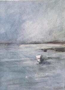Dory  |  Oil on canvas  |  12 x 9  |  13 x 10 Framed  |  $900