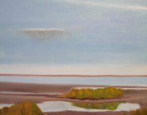 BAY GRASSES |   Oil on canvas  |   8 x 10   | $450