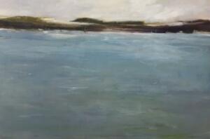 HARBORS EDGE  |  Oil on canvas  |  24 x 36  |  25.5 x 37.5 Framed  |  $3200