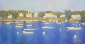 Cotuit Bay     Oil on canvas     14 x 17     15 x 18 Framed     $1,600