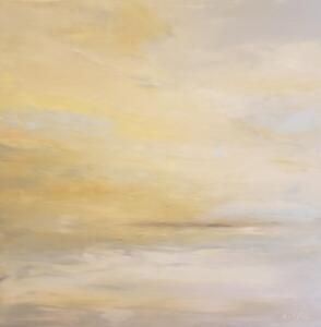 Flight Level 320 (32000ft)    Oil and cold wax on panel      30 x 30     $2850