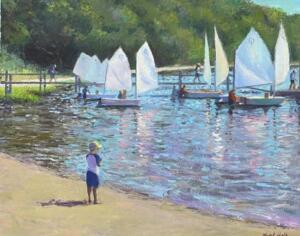 Someday...     Oil on canvas     16 x 20     17 x 21 Framed     $1400