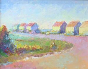 SUMMER IS HERE  |  Oil on board  |  11 x 14  |  17 x 20 Framed  |  $900