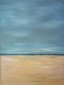 BLUE VISIONS  |  Oil on canvas  |           40 x 30  |  42 x 32 Framed  |  $3,800