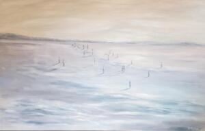 PEACEFUL SOULS  |  Oil on canvas  |  30 x 48  |  $4,200