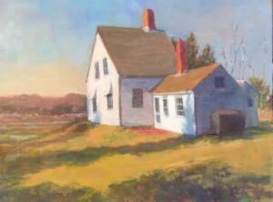 PEARSE-HOUSE | Oil on linen | 12 x 16  | 13.75 x 17.75 Framed |   $1500