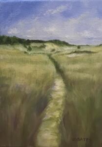 MARSH TRAIL  |  7 x 5  |  Oil on canvas  |  8.5 x 6.5 Framed  |  $350