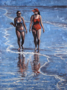 SUMMER REFLECTIONS |  Oil on canvas |  40 x 30   |  $1600
