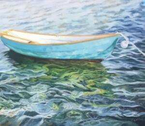 WATER MUSIC  |  Pastel on sanded paper  |  16 x 20  |  22 x 26 Framed  |  $950